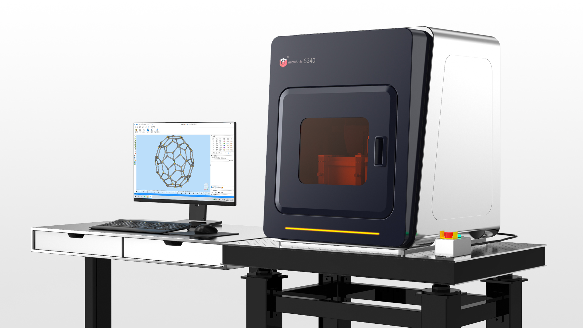 摩方微纳3D打印系统nanoArchR S240